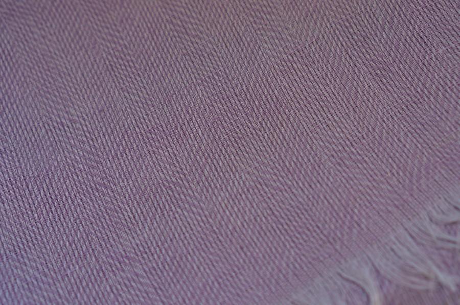 Purple Linen Shawl