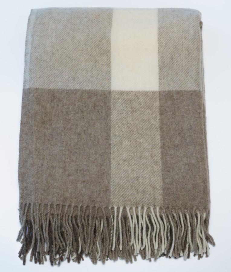 Virgin Wool Blanket - Throw (Bright)